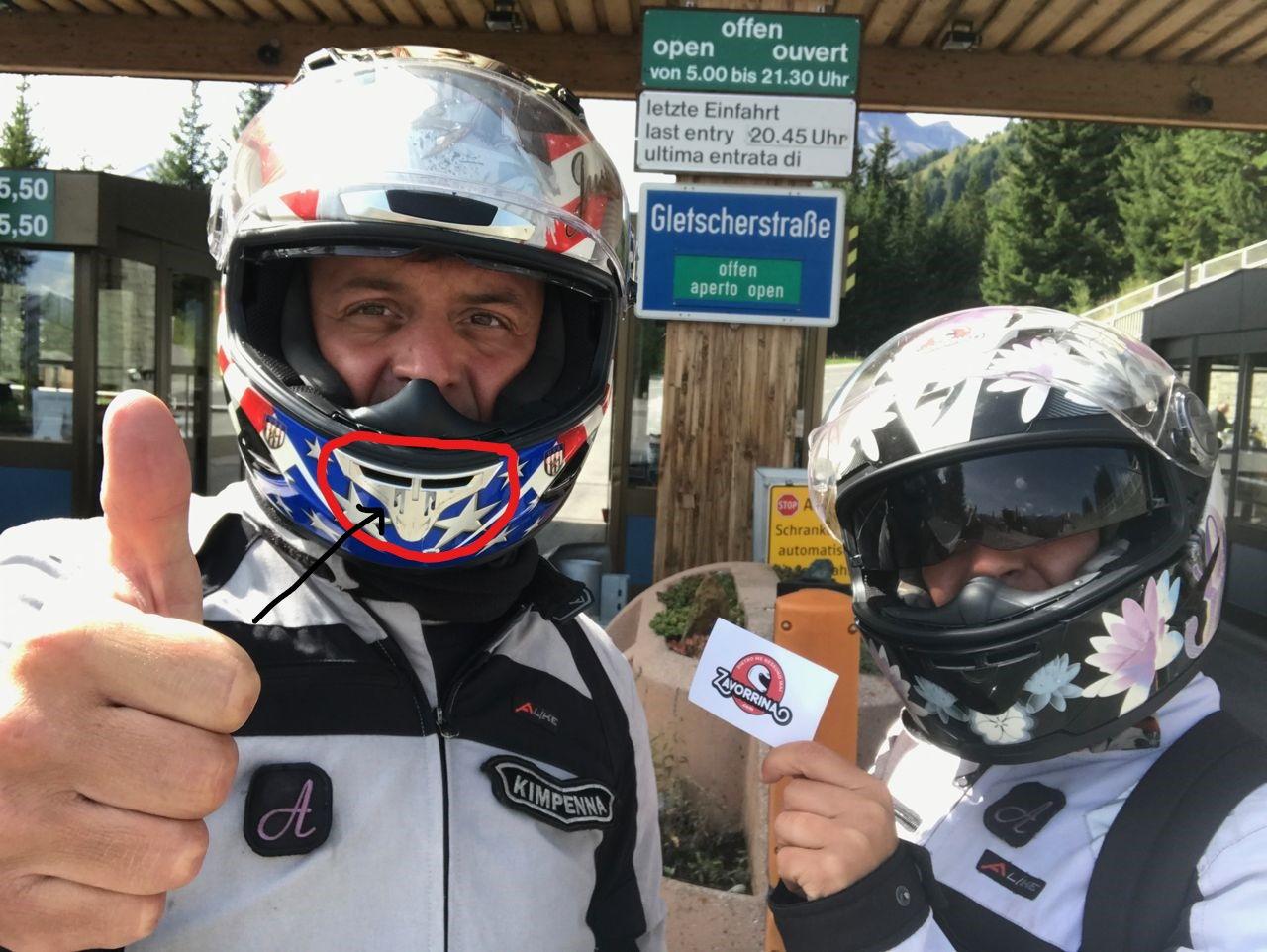 Casco Helmet Scorpion Pezzo Mancante