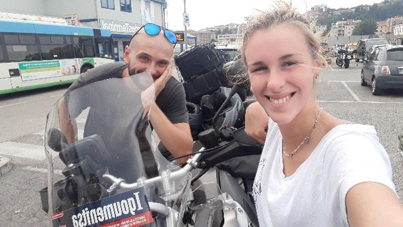 Zavorrina Giulia - Viaggio in Grecia in moto