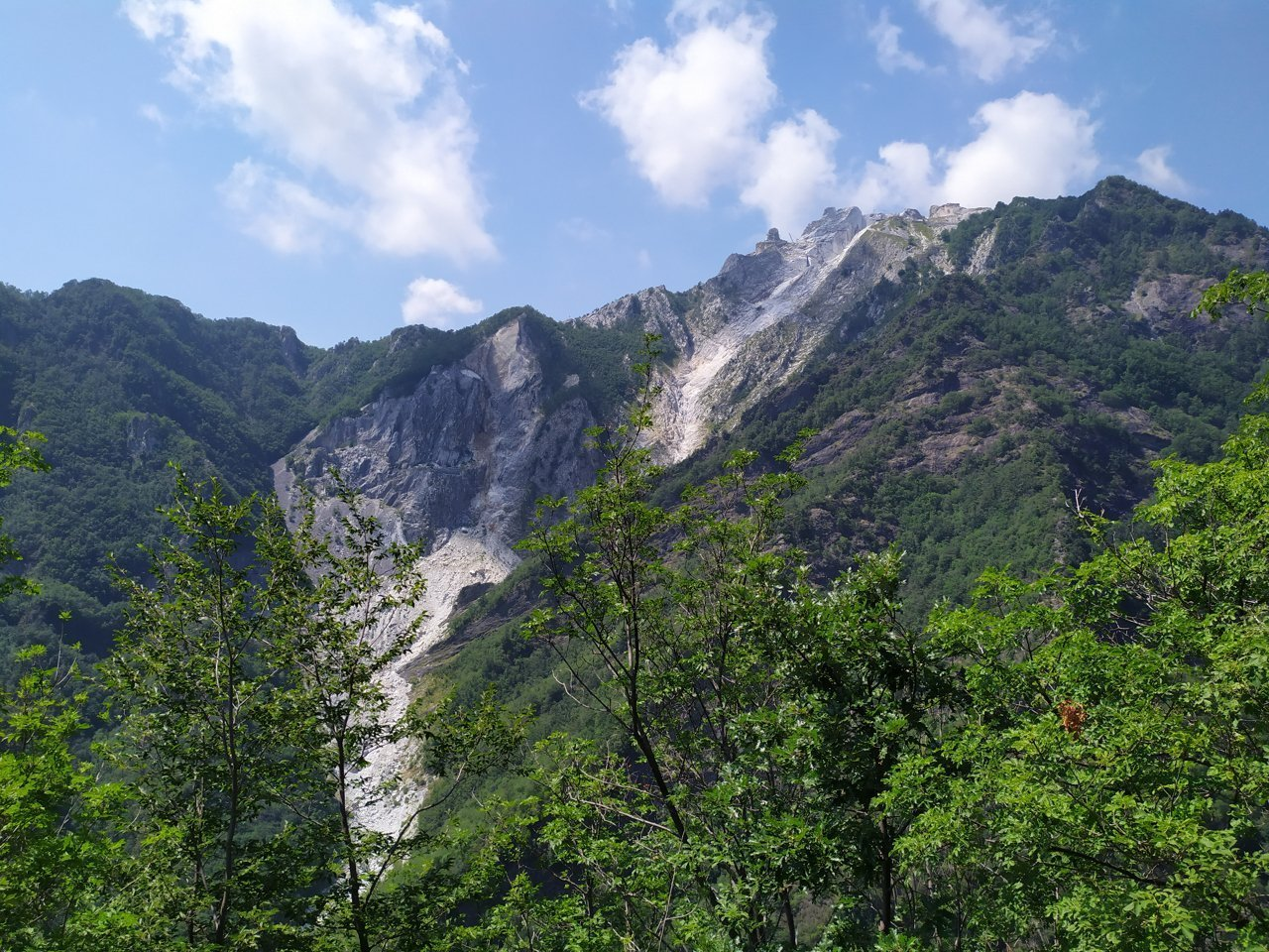 Alpi Apuane - Cava delle Cervaiole